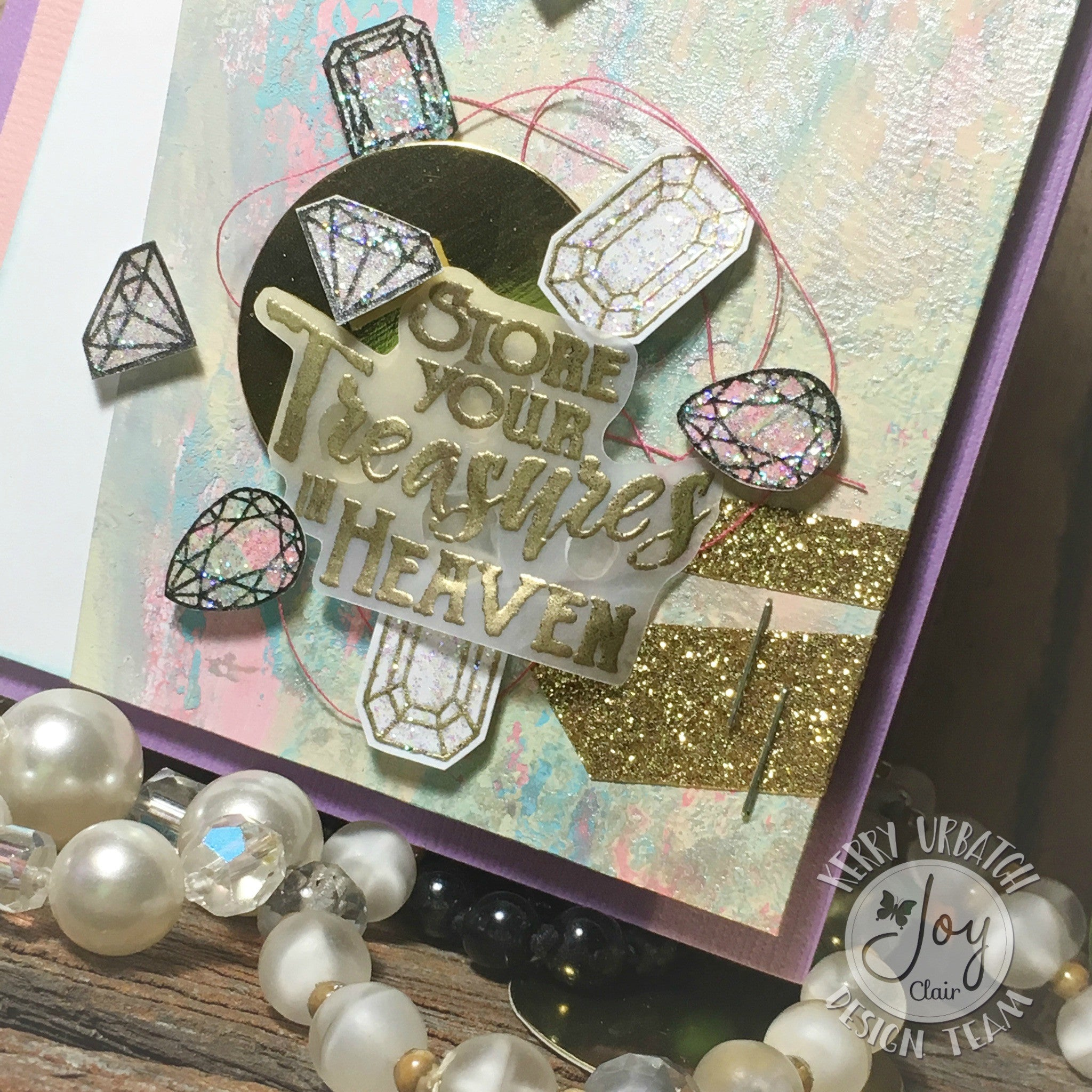 Clear Stamps - God's Treasure | Bible Journaling Clear Stamps - Joy Clair - 11