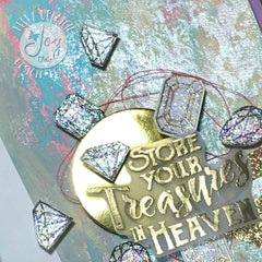 Clear Stamps - God's Treasure | Bible Journaling Clear Stamps - Joy Clair - 9