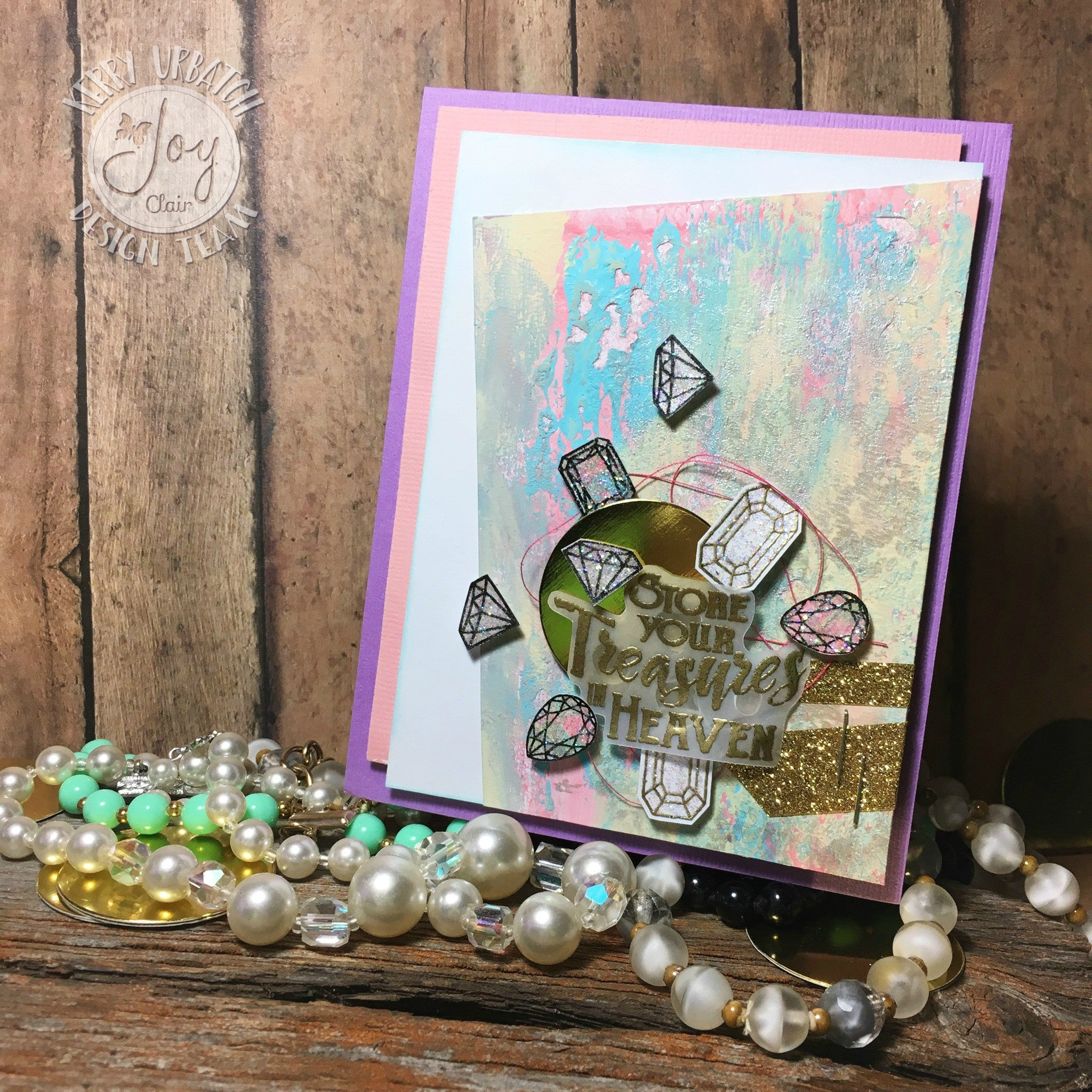 Clear Stamps - God's Treasure | Bible Journaling Clear Stamps - Joy Clair - 13