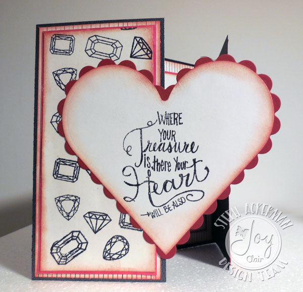Clear Stamps - God's Treasure | Bible Journaling Clear Stamps - Joy Clair - 6
