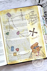 Clear Stamps - God's Treasure | Bible Journaling Clear Stamps - Joy Clair - 4
