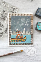 Wild and  Free Clear Stamps