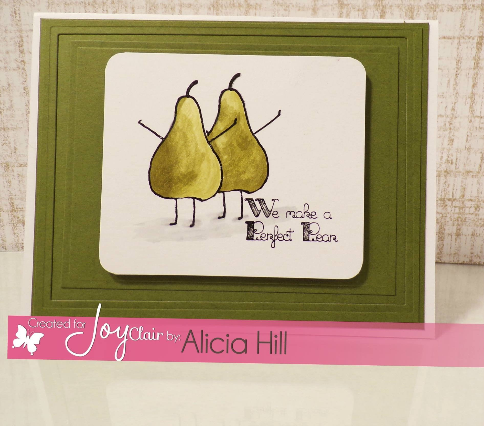 Funny Foods Clear Stamps - Joy Clair - 5