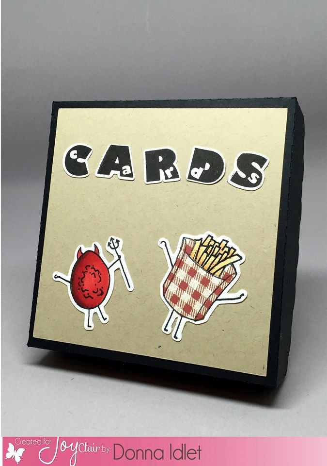 Funny Foods Clear Stamps - Joy Clair - 8