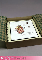 Funny Foods Clear Stamps - Joy Clair - 7