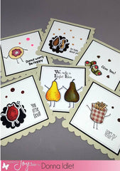 Funny Foods Clear Stamps - Joy Clair - 6