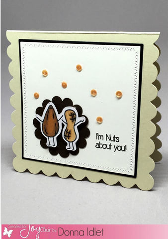 Funny Foods Clear Stamps