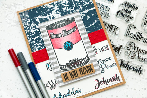 Manna from Heaven  | Bible Journaling Clear Stamps