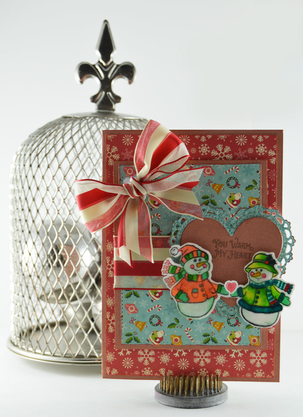 Cozy Snowman Wishes Clear Stamps - Joy Clair - 3