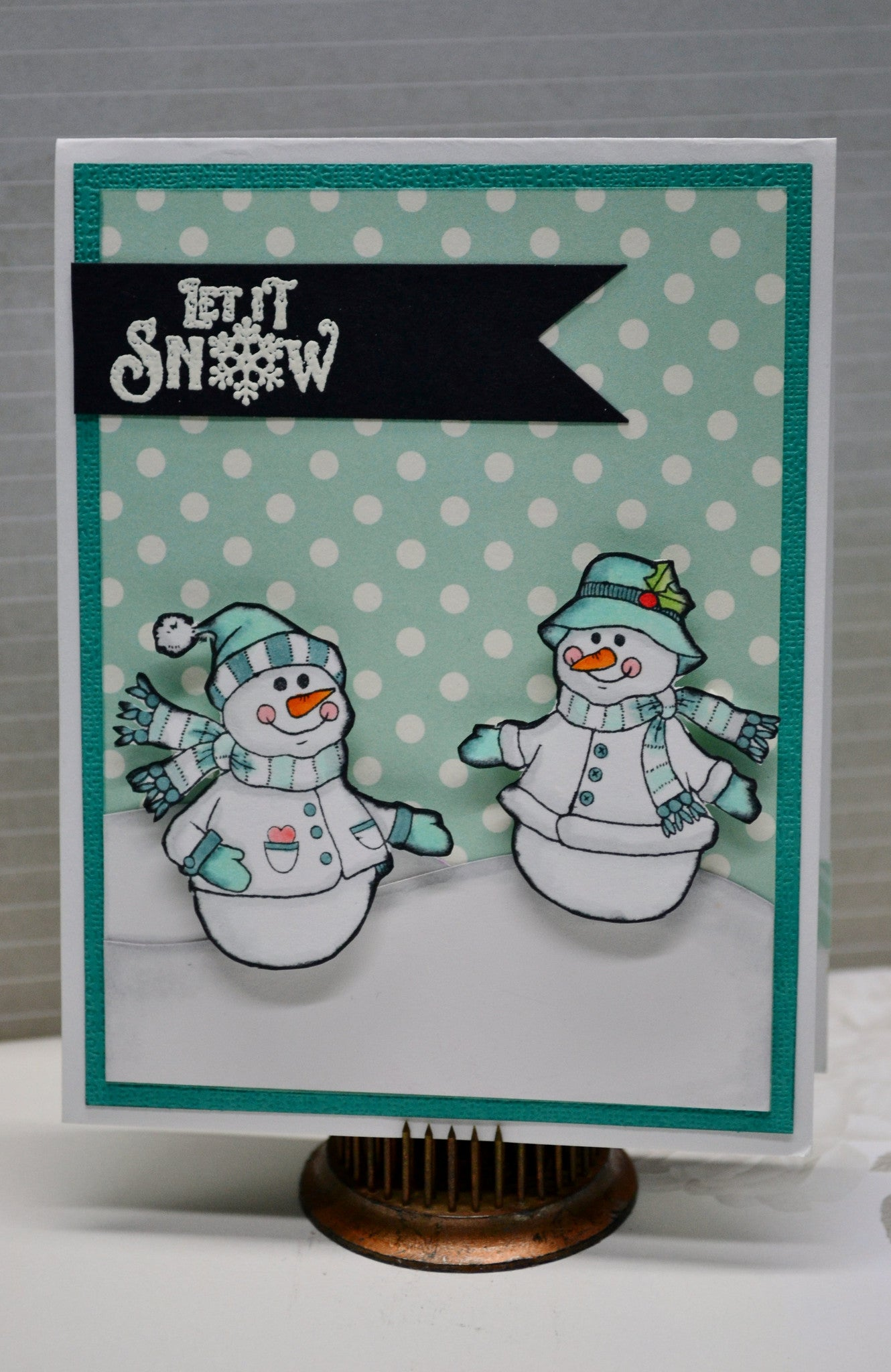 Cozy Snowman Wishes Clear Stamps - Joy Clair - 5