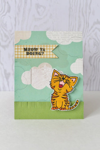 Just Kitten Around Clear Stamps