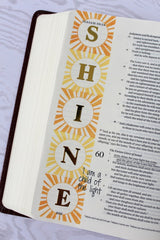 Clear Stamps - Let the Light Shine | Bible Journaling Clear Stamps - Joy Clair - 3