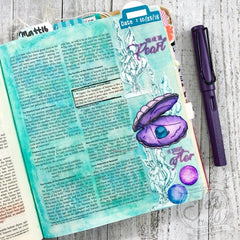 Pearl of Great Price | Bible Journaling Stamp Set