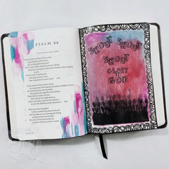 Praise the Lord | Bible Journaling Clear Stamp Set