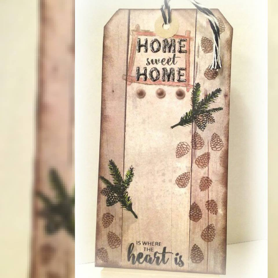 Rustic Occasions Sentiments Clear Stamps - Joy Clair - 10
