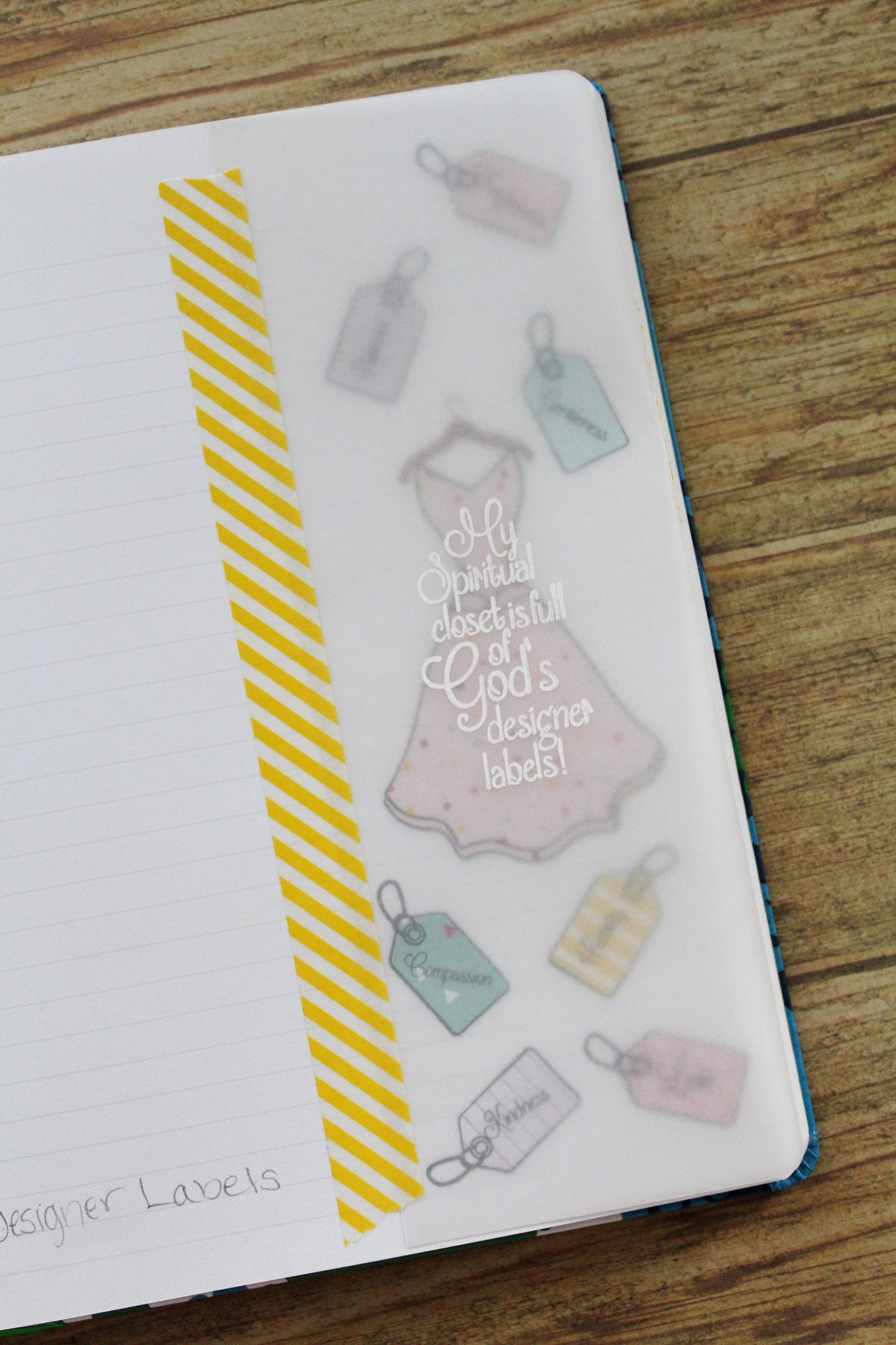 Clear Stamps - Designer Labels | Bible Journaling Clear Stamps - Joy Clair - 5