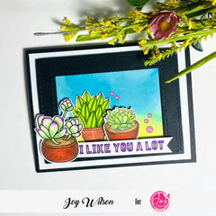 My Succulents Digital Stamps