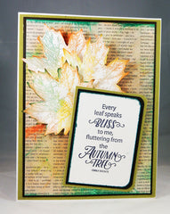 Hello Autumn Clear Stamps - Joy Clair - 18