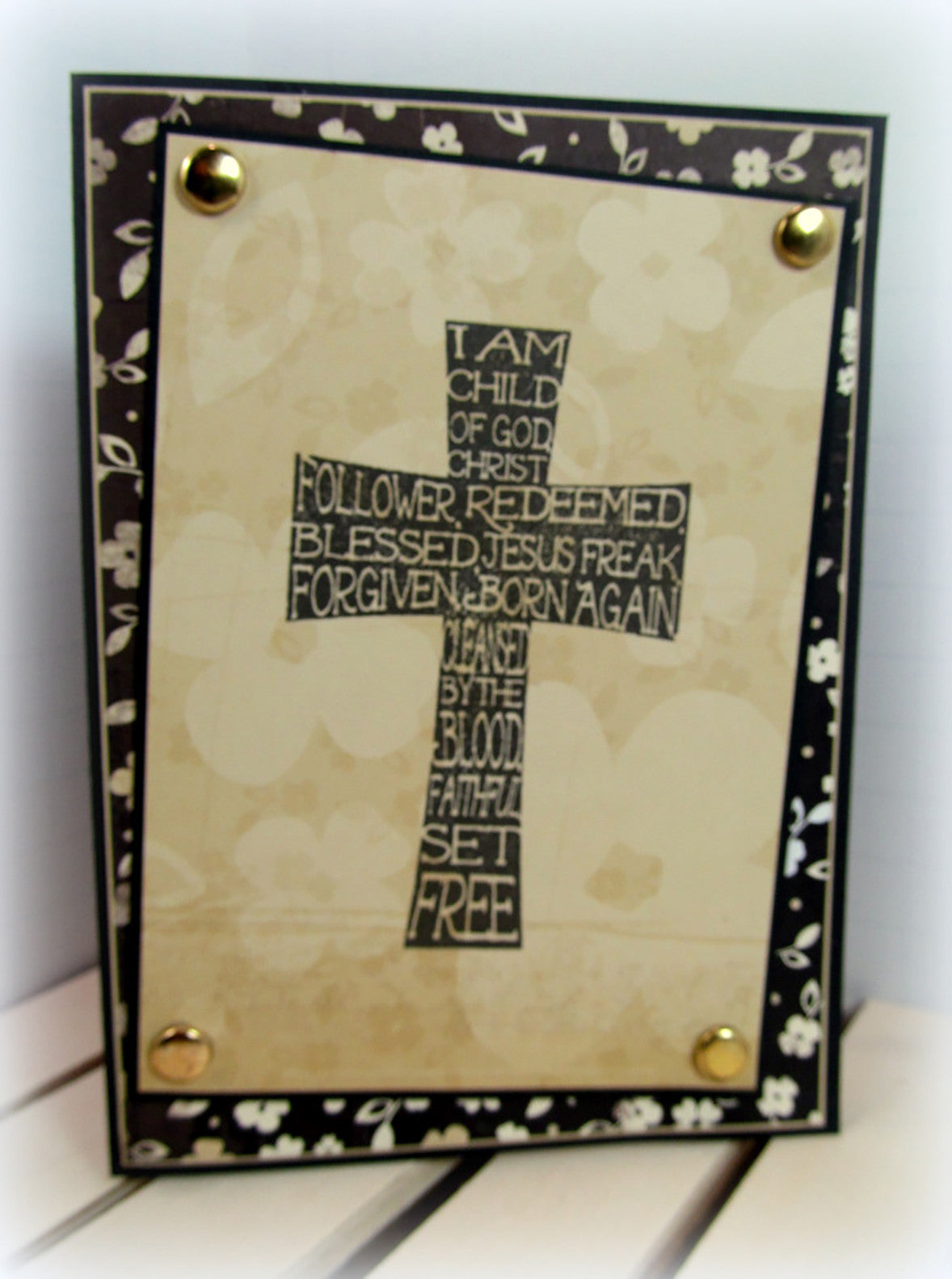 Clear Stamps - God's Love | Bible Journaling Clear Stamps - Joy Clair - 6