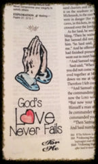 Clear Stamps - God's Love | Bible Journaling Clear Stamps - Joy Clair - 4