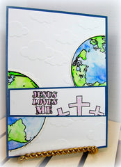 Clear Stamps - John 3:16 | Bible Journaling Clear Stamps - Joy Clair - 11