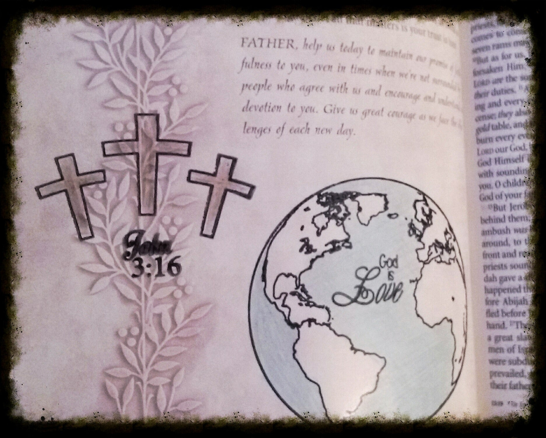 Clear Stamps - John 3:16 | Bible Journaling Clear Stamps - Joy Clair - 9