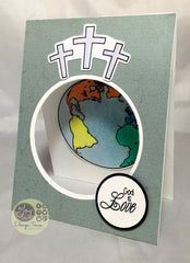Clear Stamps - John 3:16 | Bible Journaling Clear Stamps - Joy Clair - 3