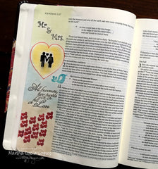Clear Stamps - Song of Solomon | Bible Journaling Clear Stamps - Joy Clair - 5
