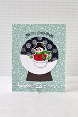 Cozy Snowman Wishes Clear Stamps - Joy Clair - 9