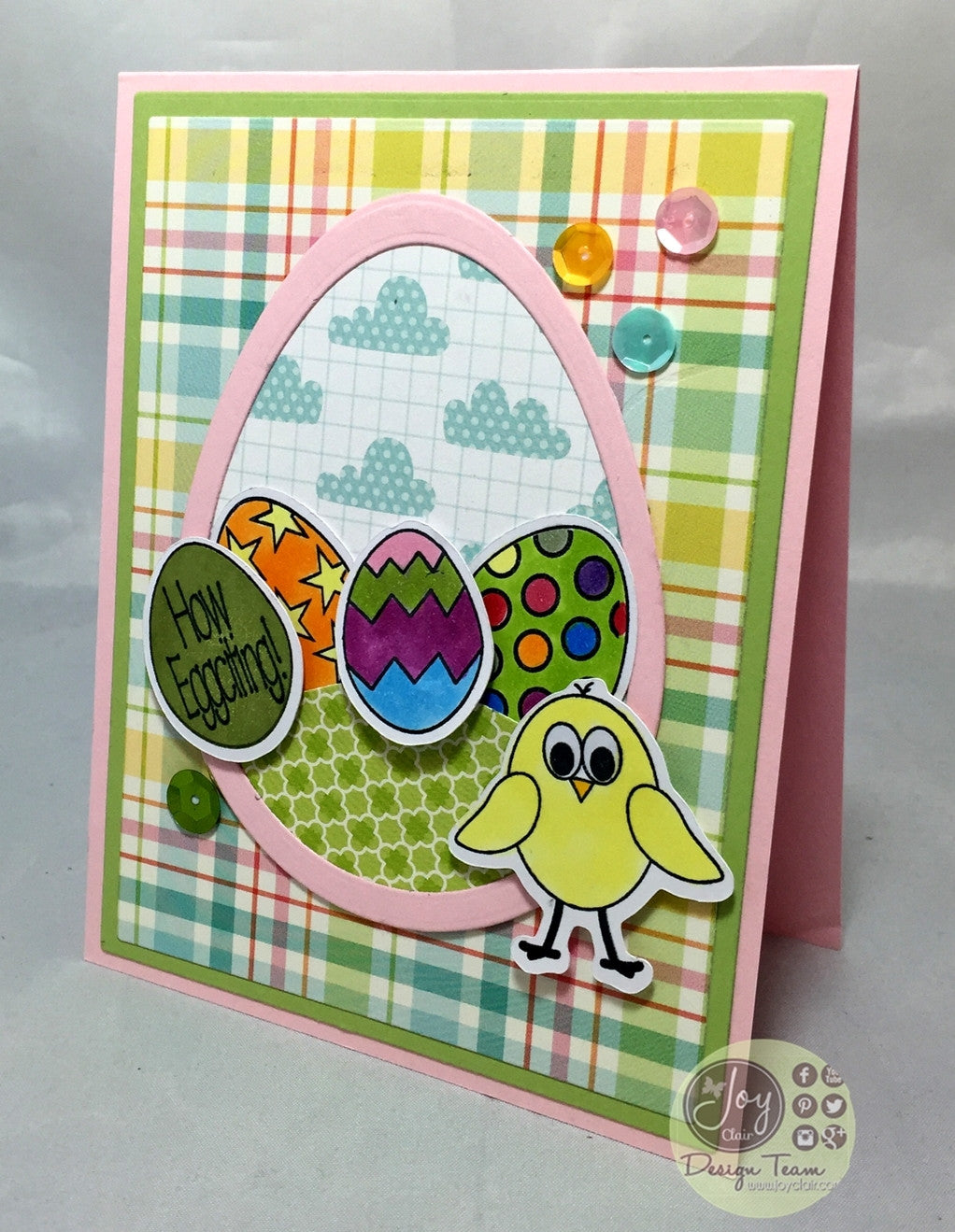 Easter Eggs Clear Stamps - Joy Clair - 16