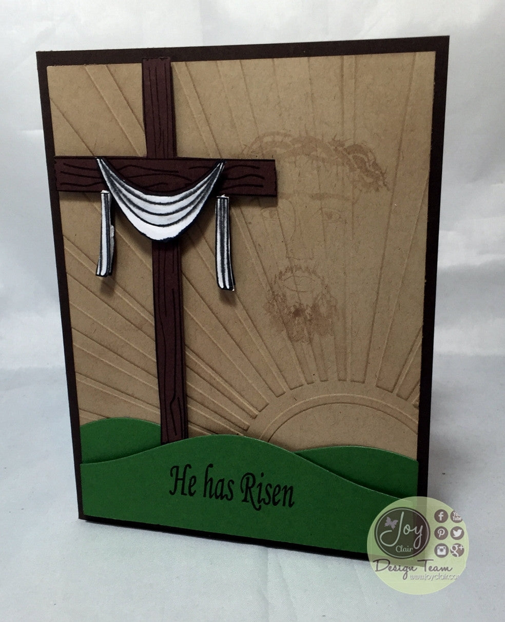 Clear Stamps - He has Risen | Bible Journaling Clear Stamps - Joy Clair - 12