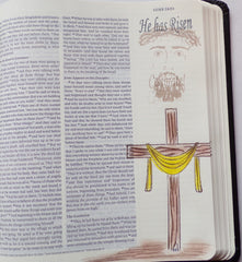 Clear Stamps - He has Risen | Bible Journaling Clear Stamps - Joy Clair - 5