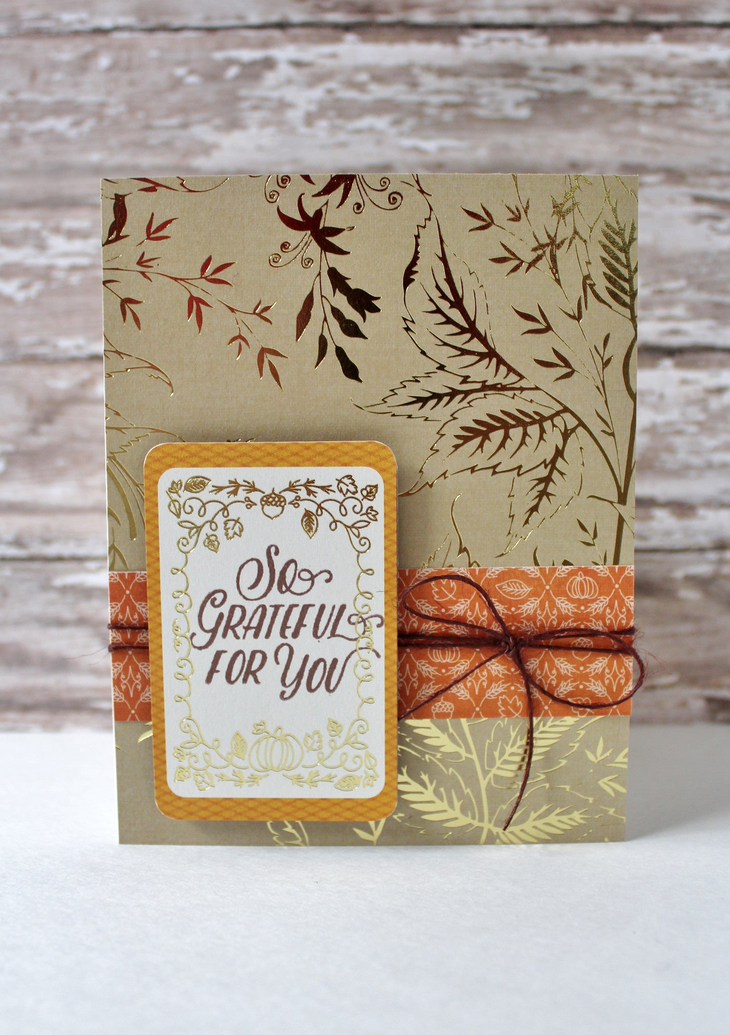 Hello Autumn Clear Stamps - Joy Clair - 15