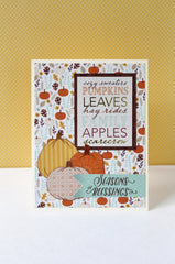Hello Autumn Clear Stamps - Joy Clair - 16