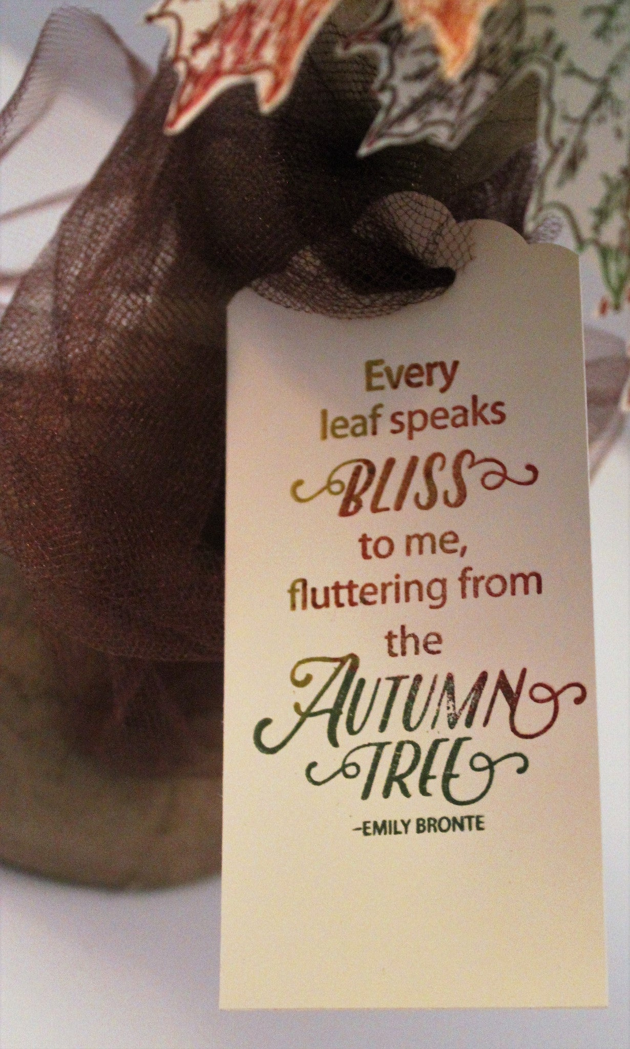 Hello Autumn Clear Stamps - Joy Clair - 11
