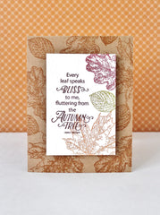 Hello Autumn Clear Stamps - Joy Clair - 19