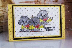 Just Kitten Around Clear Stamps - Joy Clair - 4
