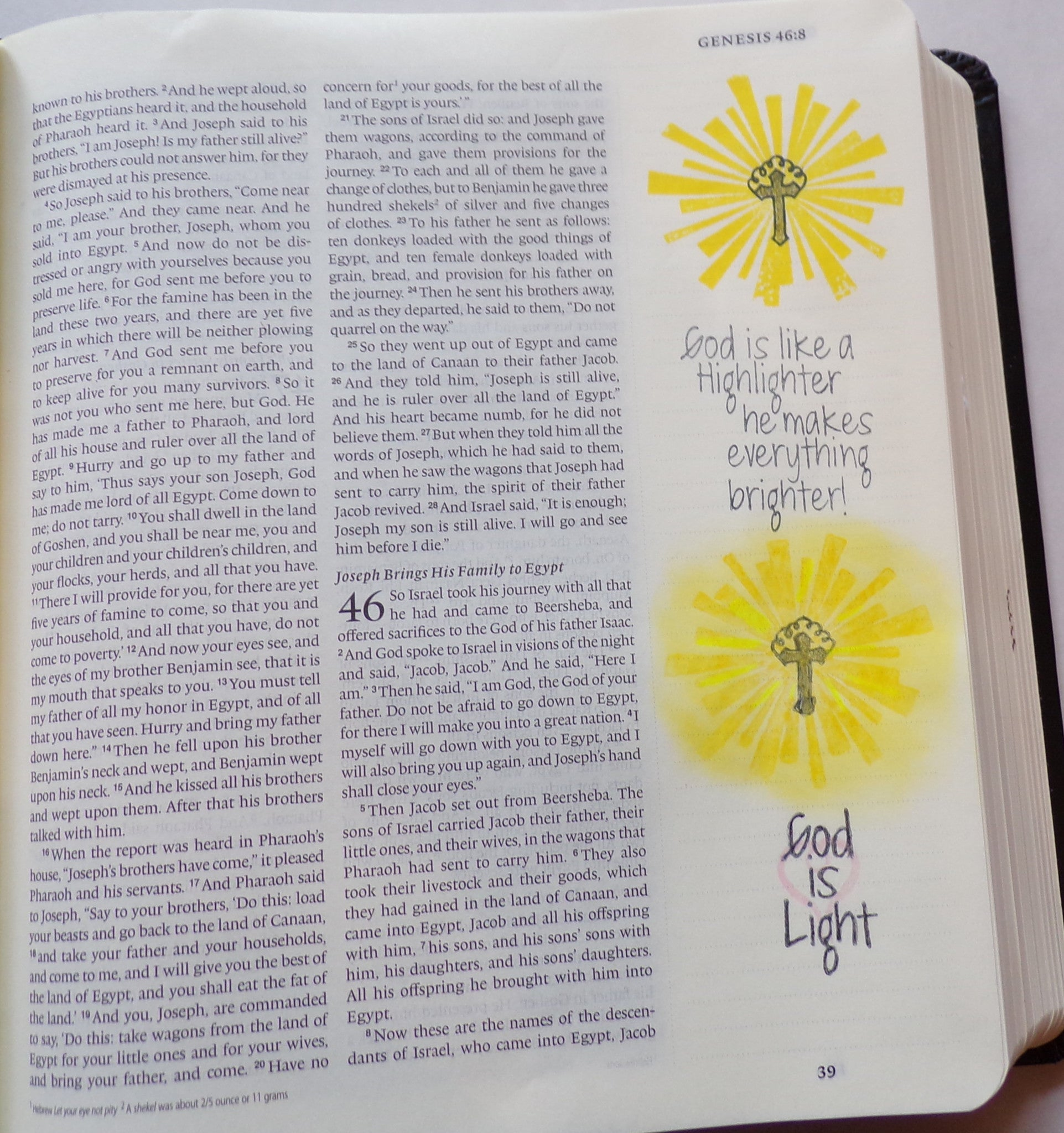 Clear Stamps - Let the Light Shine | Bible Journaling Clear Stamps - Joy Clair - 5