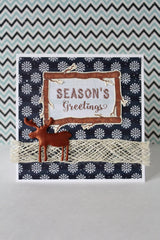 Rustic Christmas Sentiments Clear Stamps - Joy Clair - 2
