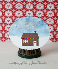 Santa's Coming Clear Stamp Christmas Set - Joy Clair - 7