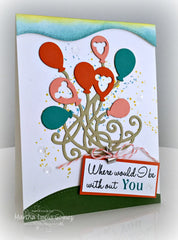 You and Me Sentiments Clear Stamps - Joy Clair - 10