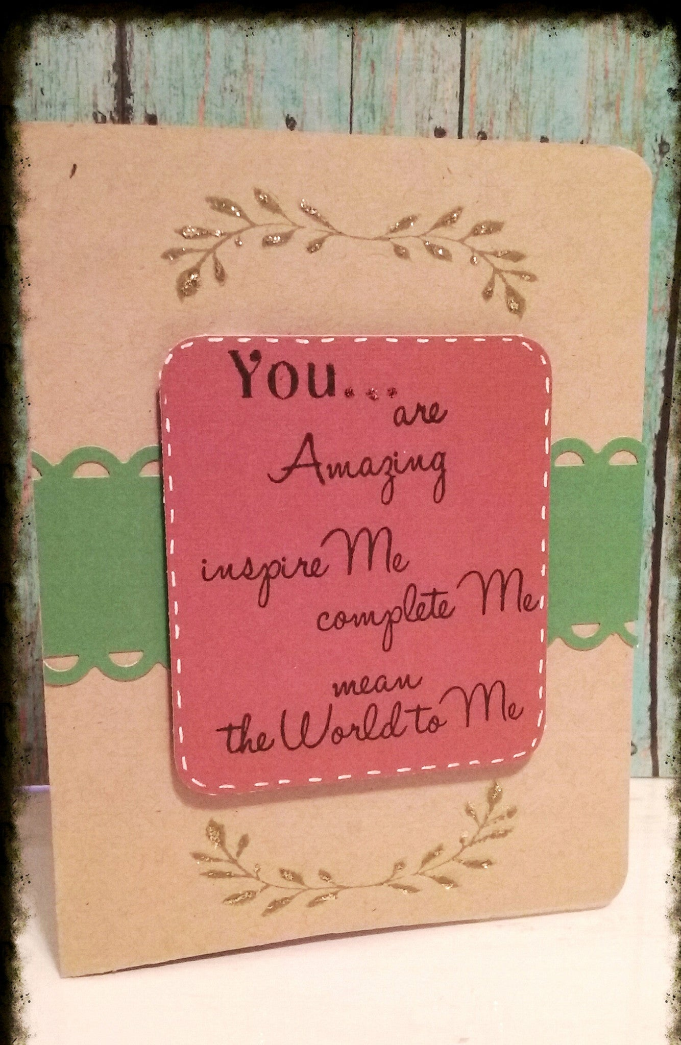 You and Me Sentiments Clear Stamps - Joy Clair - 6