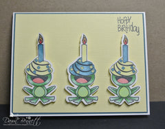 Hoppy Birthday Clear Stamps - Joy Clair - 7