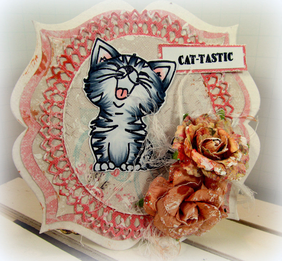 Just Kitten Around Clear Stamps - Joy Clair - 5