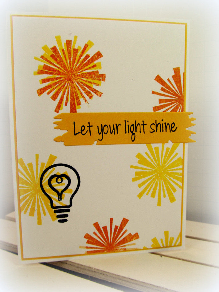 Clear Stamps - Let the Light Shine | Bible Journaling Clear Stamps - Joy Clair - 6