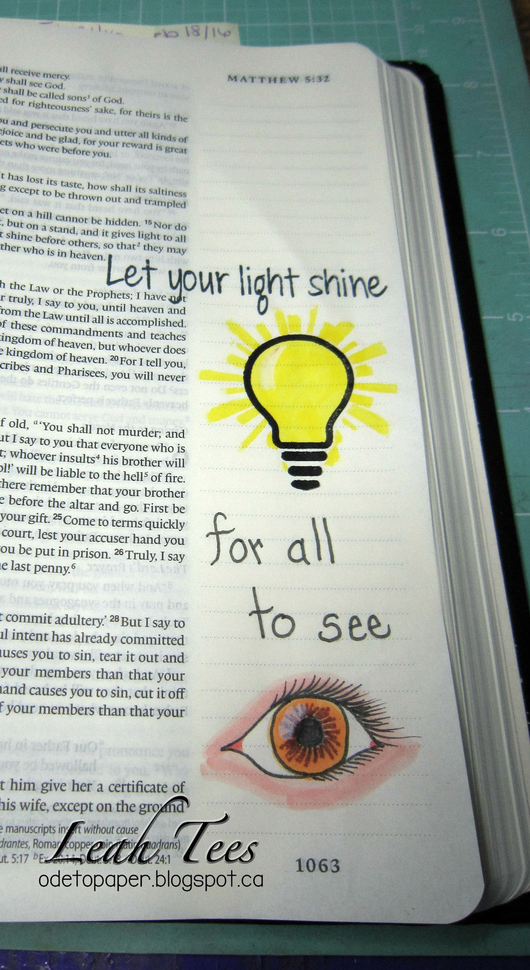 Clear Stamps - Let the Light Shine | Bible Journaling Clear Stamps - Joy Clair - 11