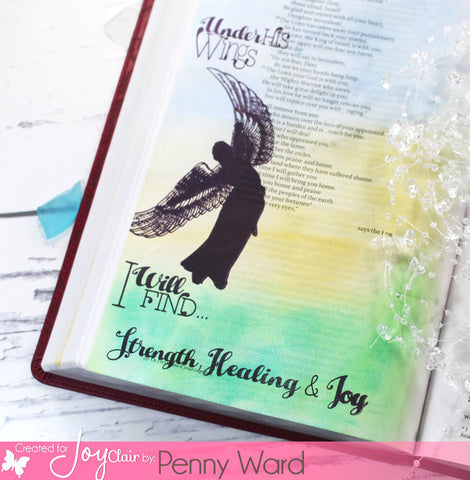 Lift Me Up | Bible Journaling Clear Stamps