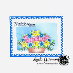 Spring Floral Basket Digital Set