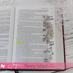 Clear Stamps - Lion and Lamb | Bible Journaling Clear Stamps - Joy Clair - 6