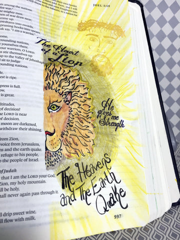 Lion and Lamb | Bible Journaling Clear Stamps
